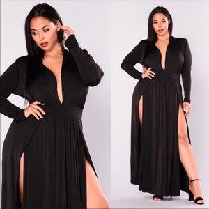 Sexy black dress super stretchy